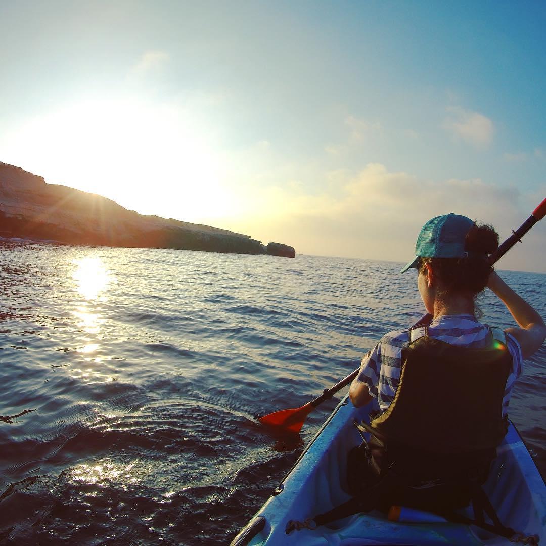 Sunrise, Kayak and Coffee